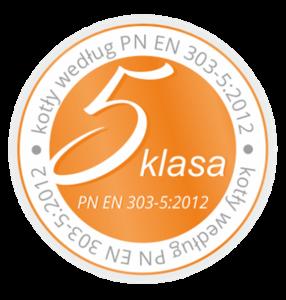 5 klasa PN EN 303-5:2012